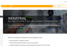 NXP Industrial Solutions Website